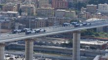Il collaudo del Ponte Morandi