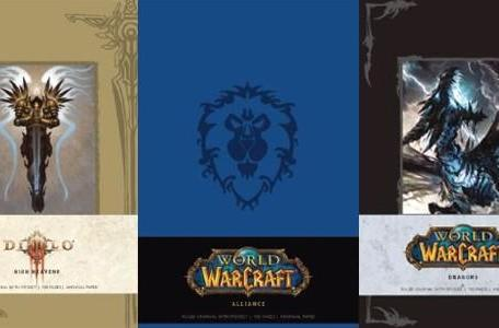 Blizzard journals coming this fall from Insight Editions