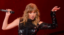 Taylor Swift Sings 'Gorgeous' to Boyfriend Joe Alwyn During 'Reputation' Tour's First Show