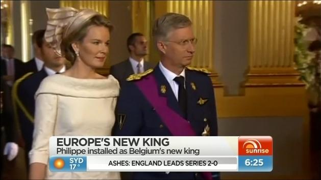 New Belgian King appointed