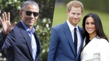 Obama Congratulates Harry and Meghan