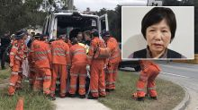 Grandmother with dementia found after spending four days alone in bushland