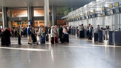 Briton found dead tied to bench at Malaga airport