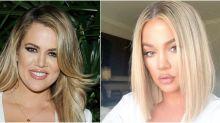 Khloé Kardashian Chops Long Blonde Hair Into Blunt 'Lob' And We're Loving It