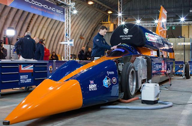 Supersonic car project needs $33 million to avoid bankruptcy
