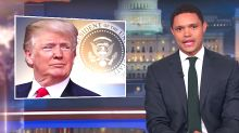 Trevor Noah: Donald Trump Is The First Sober Person I've Heard Doing 'Drunk History'