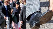 Los errores de estilo de los 'royals': del sujetador de Letizia a los zapatos rotos de Harry