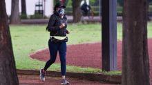 Autoridades buscan al hombre que golpeó a una corredora en Parque Hundido