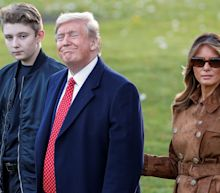Melania Trump savages academic who joked about son Barron's name at impeachment hearings