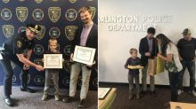 6-Year-Old Boy Receives Outstanding Citizen's Award After Returning $2,000 He Found