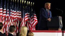 Trump tells Republican convention 'weak' Biden will destroy US