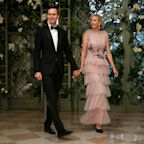 Ivanka Trump wears $12,888 polka-dot gown to state dinner