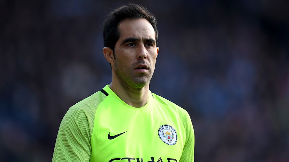 Man City goalkeeper Bravo ruled out for rest of the season