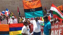 Chagos Islanders protest British refusal to leave