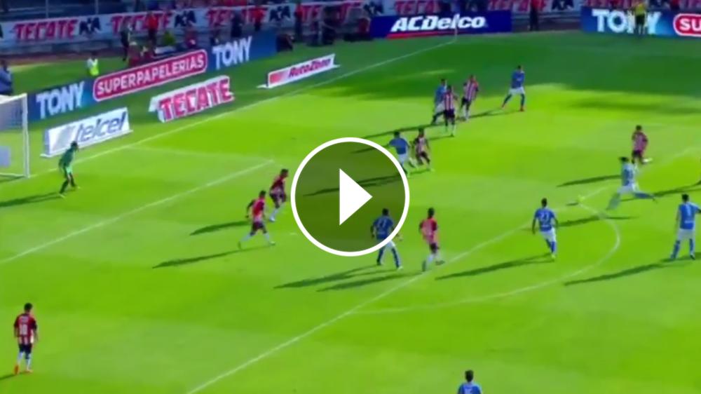 VIDEO: El golazo del Gato Silva contra Chivas