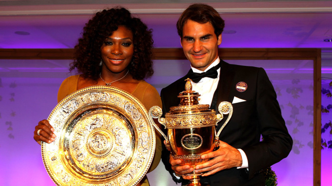 Federer says Serena is the greatest of all time