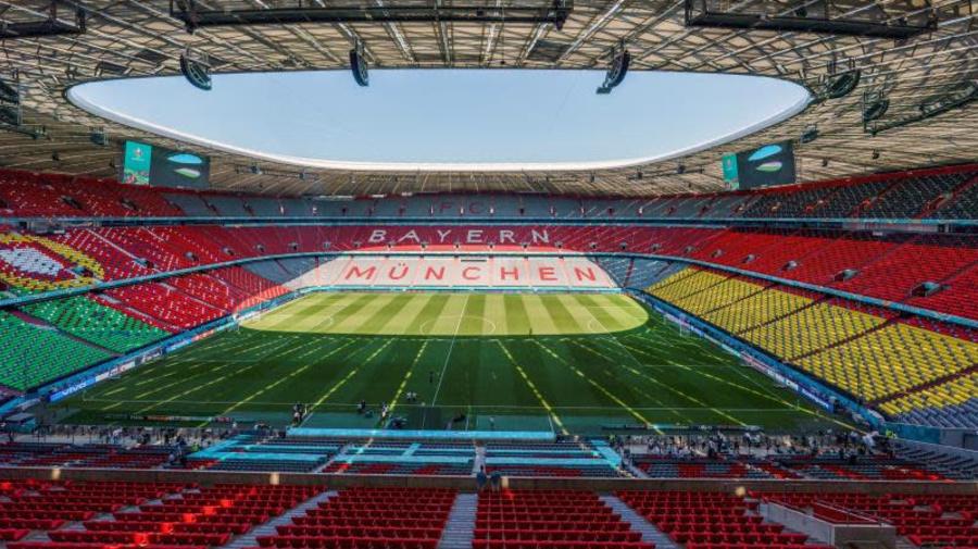 """El Bayern """"se hubiera alegrado"""" con iluminación arco iris del Allianz Arena"""