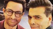 On 'koffee-kouch', KJo and Aamir discuss #MeToo. We swipe right!