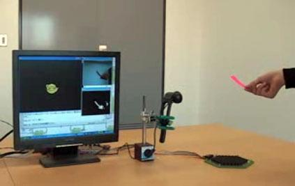 Airborne Ultrasound Tactile Display creates haptic 3D objects you can poke