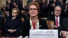 5 key takeaways from testimony by former Ukraine Ambassador Marie Yovanovitch