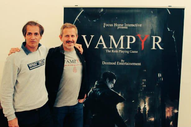 Remember Me studio building vampiric WWI RPG