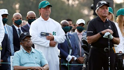 Player: Son 'wrong' to use Masters for marketing