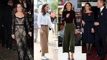 Inside the Duchess of Cambridge's enviable wardrobe as she celebrates 38th birthday