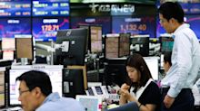 Asian shares slip following weaker-than-expected China data