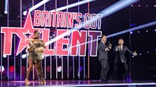 Variety performer wins first standing ovation of Britain's Got Talent final