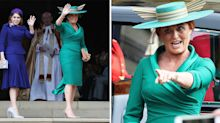 Fergie makes a grand comeback at Princess Eugenie's royal wedding