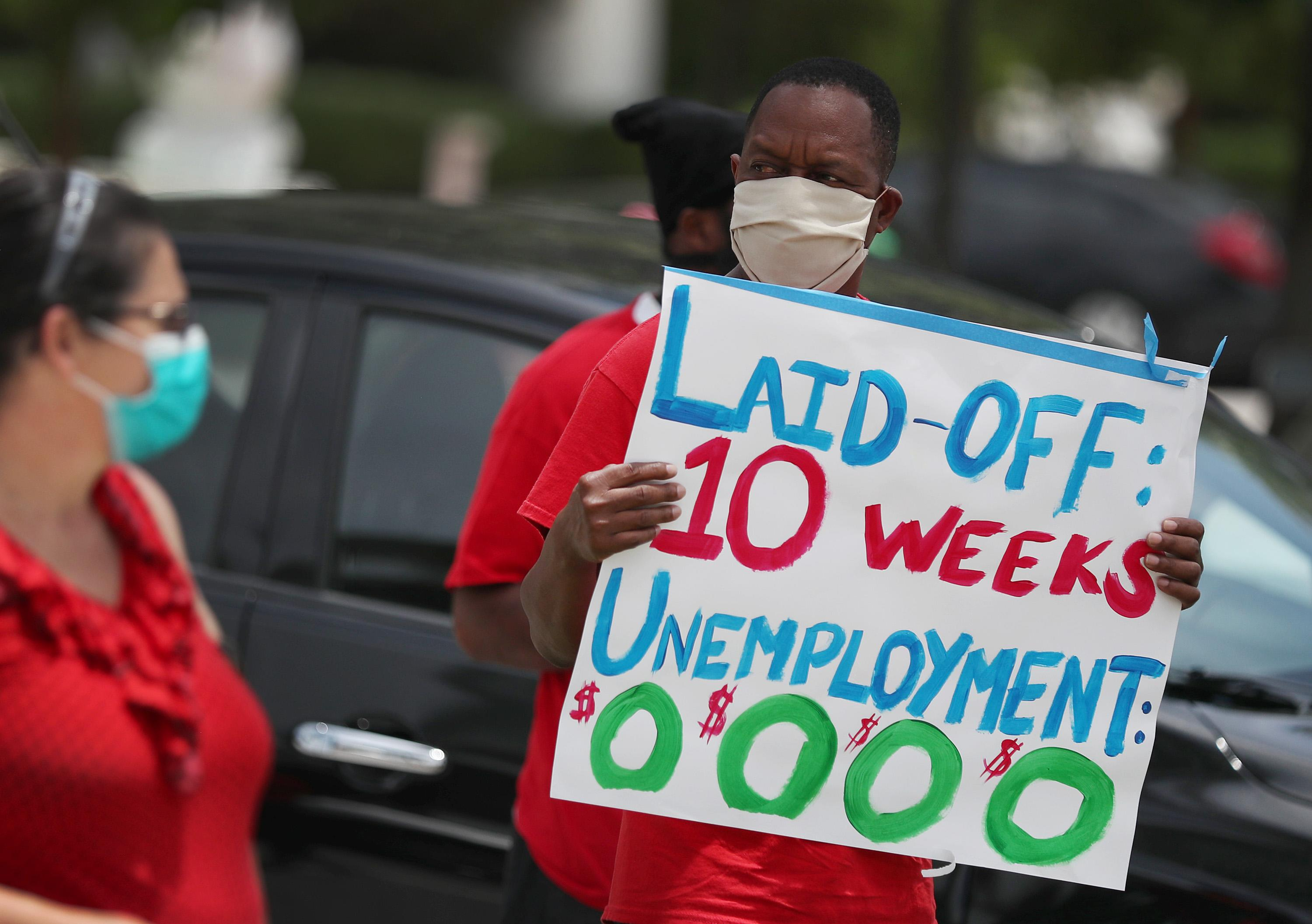 Another 1.29 million Americans expected to have filed for unemployment benefits