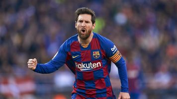 Messi scores four goals as Barcelona rolls