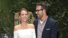 Blake Lively channels Meghan Markle in $685 cold-shoulder white dress