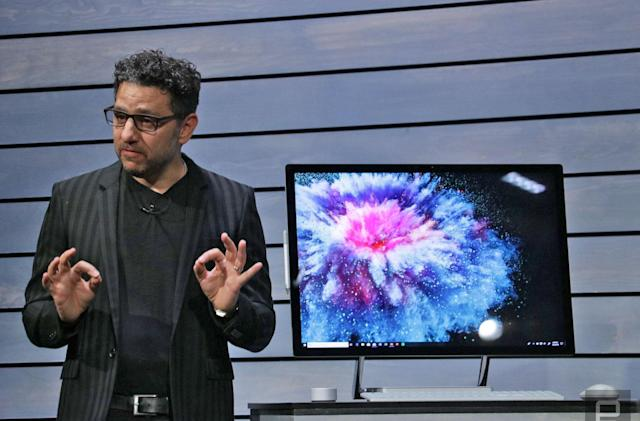 Microsoft's Surface Studio 2 packs a 2TB SSD and improved display