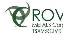 Rover Metals Announces Amendment to Option Agreement on Up Town Gold Property