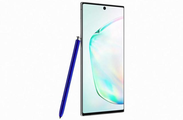 The Galaxy Note 10 vs. the competition: Smaller screen