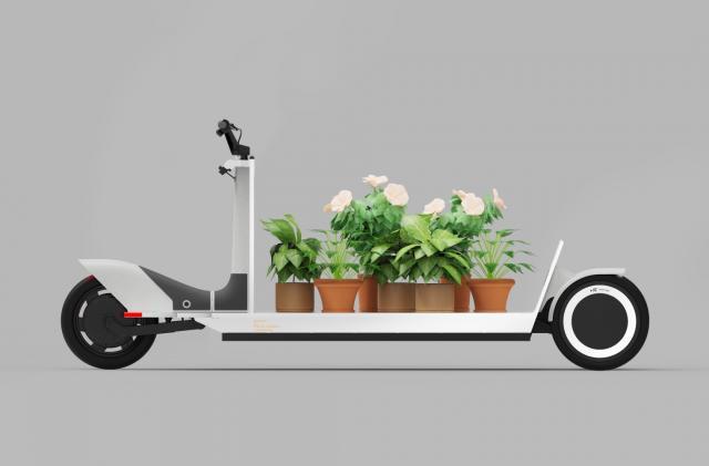 Polestar's latest EV concept is an adorable three-wheeled cargo sled