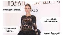 Look des Tages: Alessandra Ambrosio im sexy Netzkleid