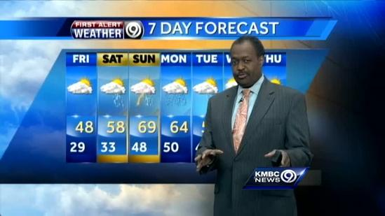 Temperatures to climb through the weekend