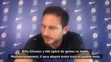 """Chelsea - Lampard : """"Gilmour sera absent trois à quatre mois"""""""