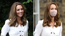 Here's where to buy Kate Middleton's floral mask and other affordable designs