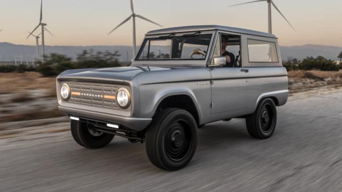 Electric Ford Bronco from Zero Labs gets 600 horsepower and a new platform