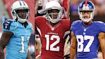 Top replacements for injured WRs