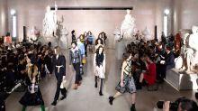 Louis Vuitton closes Paris Fashion Week