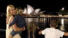 Holly Willoughby shares cute family snap from 'dream' Australia trip as she returns to the UK