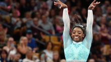 Simone Biles wears teal leotard in powerful show of support for sexuαl abuse survivors