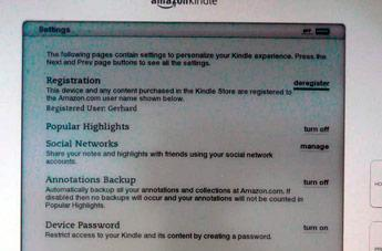Amazon's Kindle 2.5 software update begins to roll out