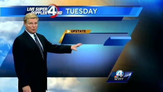 John Cessarich's forecast for Monday, June 17, 2013