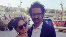 Aamir Khan rocks a nose pin with messed up curly hair on the sets of Thugs of Hindostan