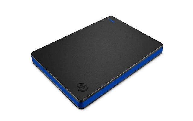 Seagate's new PS4 hard drive tacks on 2TB of extra storage
